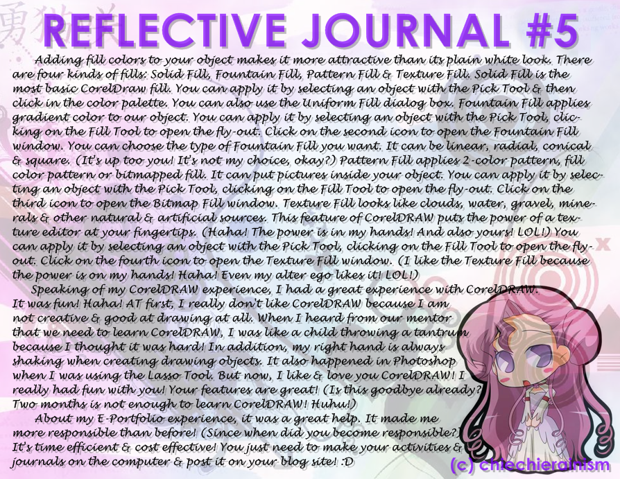 Reflective Journal